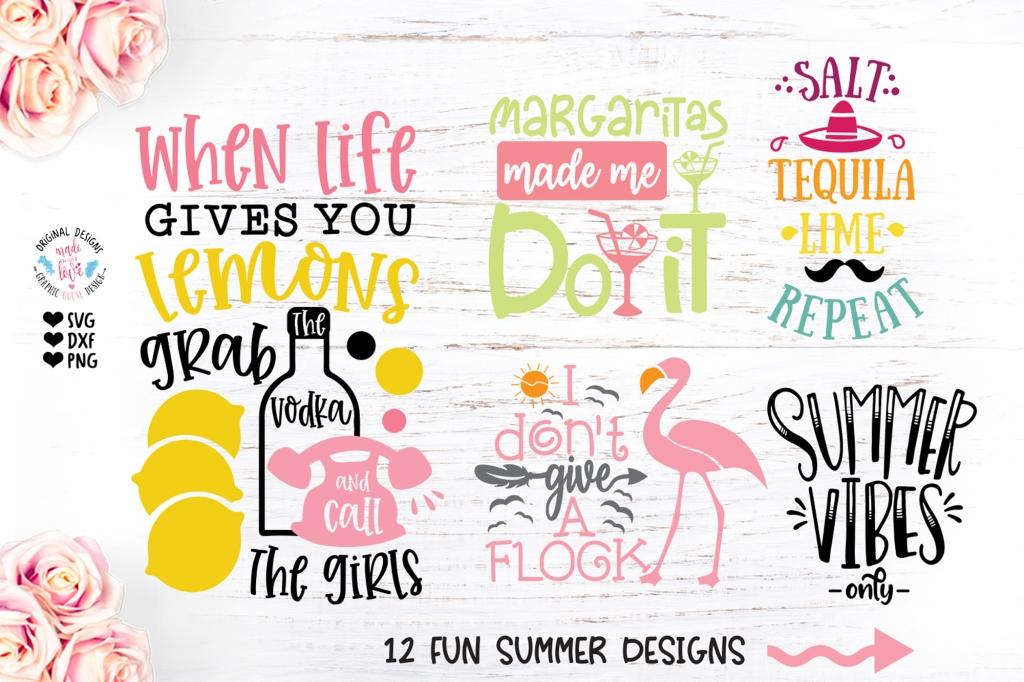 New Fun Summer Bundle Graphic House Design